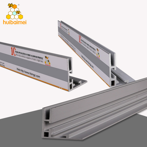 lightbox aluminum frameless light box profiles lightbox wall profile aluminium strip advertising material