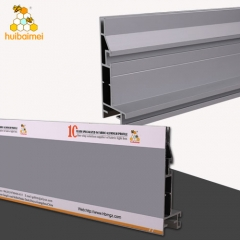 Tension textile aluminum profile single side 100mm frameless aluminum SEG frame