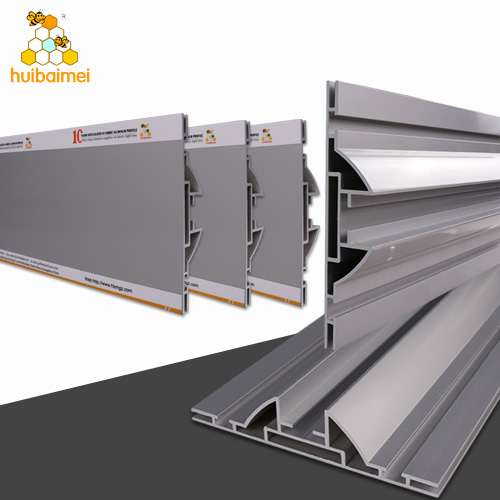 Thicken double sided 150mm frameless aluminum frame for expo fabric light box