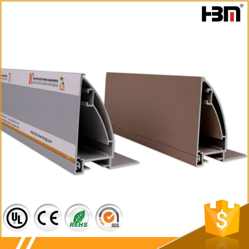 HBMB-80 side snap aluminum profile frame for fabric light box