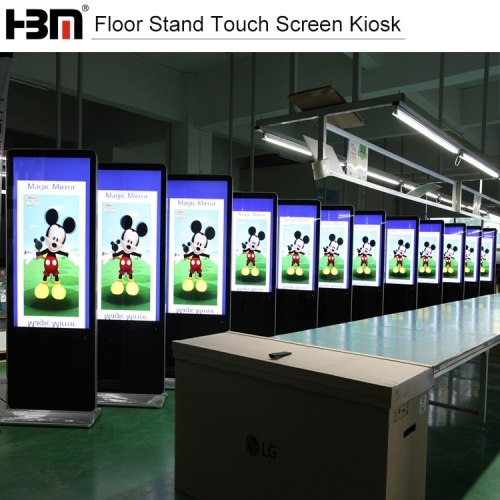 46''Floor Stand Touch Screen Kiosk