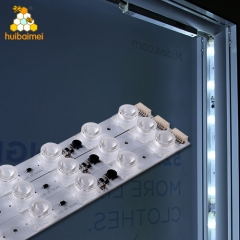 Wholesale China factory price SMD LED 3535 2.3W edgelight led module for double side fabric light box