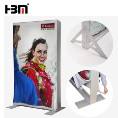 double side led backlit square light box sign led aluminum extrusion profile 120mm frame