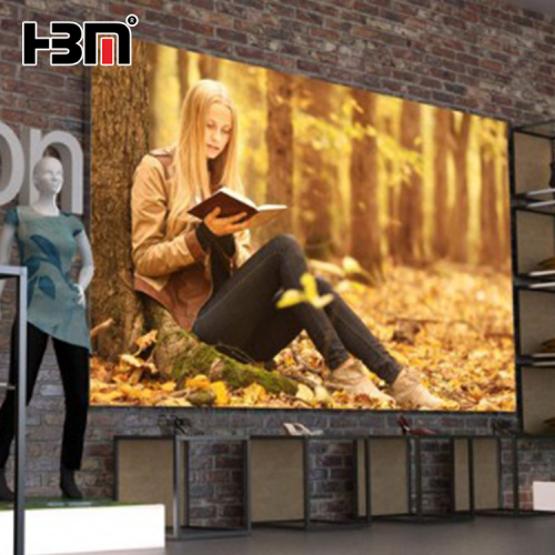 hbm brand slim aluminum profile frame back light advertising light box