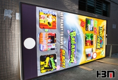 HBM aluminium extrusion advertising Edge-lit light fabric led light box
