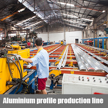 Aluminium profile production line