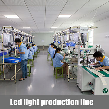 LED light production line
